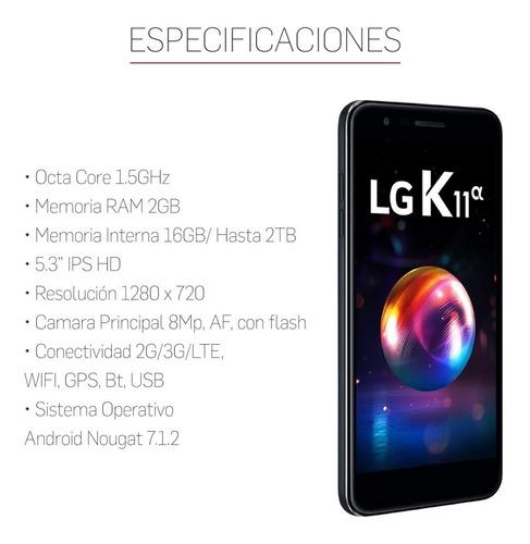 celular lg k11 alpha 2gb 16gb liberado garantia oficial 12c