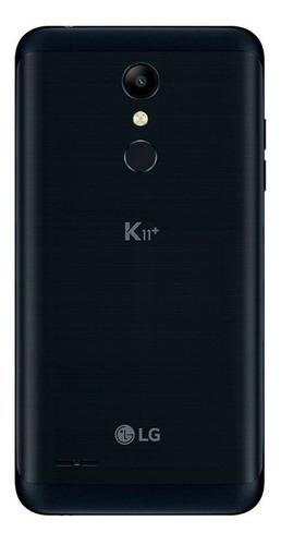 celular lg k11 plus preto 32gb tela 5,3  dual chip octa