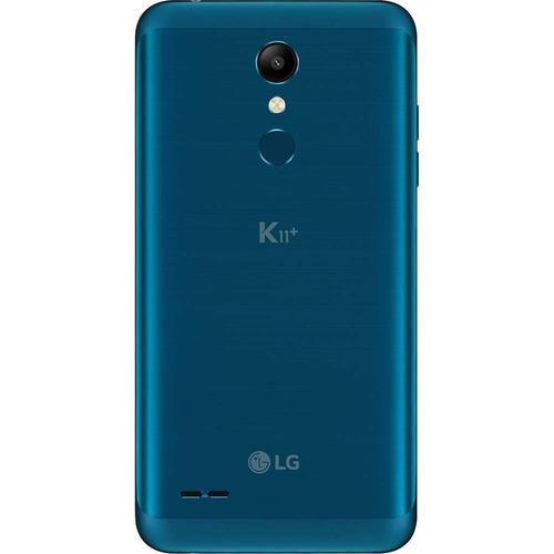 celular lg k11 plus x410  dual 32gb 13mp tela 5,3  azul