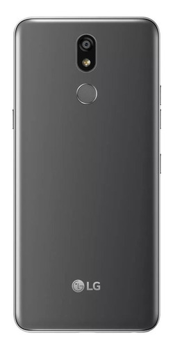 celular lg k12+ 32gb android 8.1 câmera 16mp platinum
