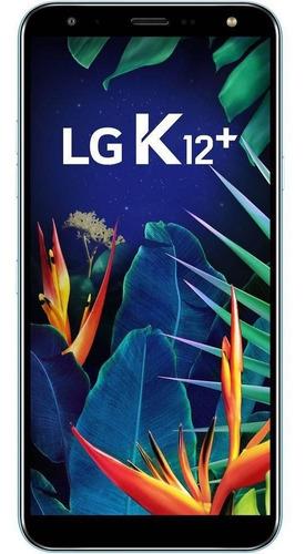 celular lg k12 plus 32gb 3gb tela 5,7  câmera 16mp - azul
