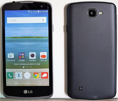 celular lg k4 k120 8gb 4g 1chip preto só chip vivo e claro