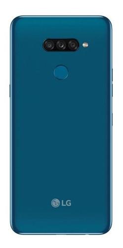 celular lg k50s azul 32gb 3gb de ram tela de 6,5 octa core c