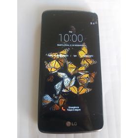 Celular LG K8 16 Gb Tela Trincada Mais Funcionando