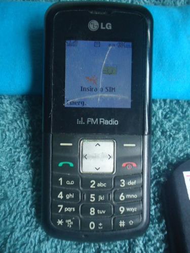 celular lg-kp106b op tim funcionando sem carregador n900