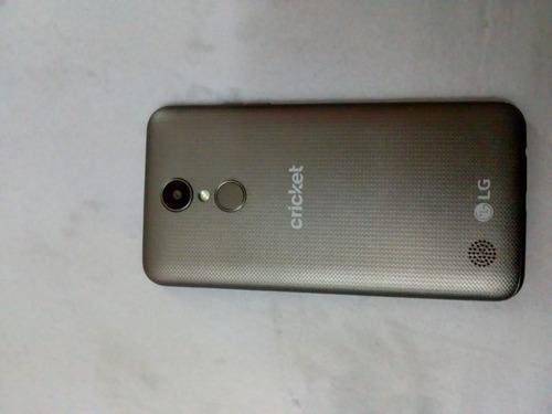 celular lg m-153(tital) color negro con gris