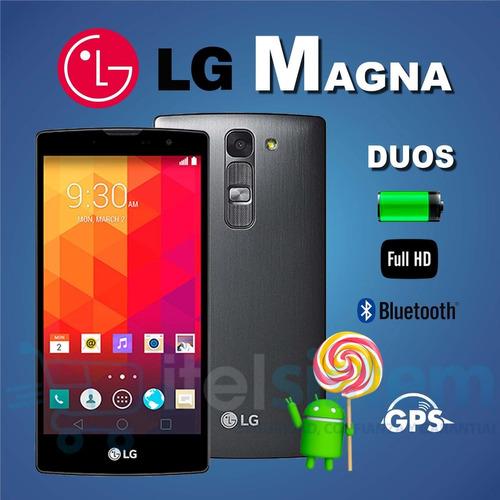 celular lg magna 5 dúos 8gb 8mp quadcore garantía itelsistem