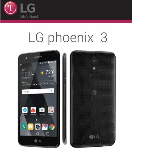 celular lg phoenix 3 nuevo 4g lte 16gb 1.5gb ram