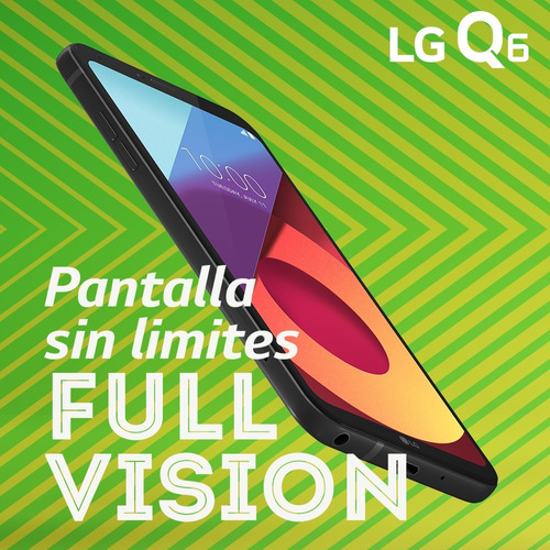 celular lg q6 alpha m700ar 5.5 ips 13/5mp 2gb 16gb + regalos
