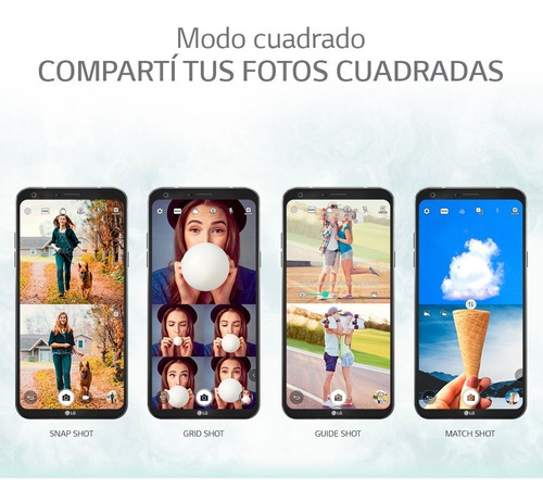 celular lg q6 m700 32 gb 4 g 5.5 fhd 13/5 mp 3 gb android