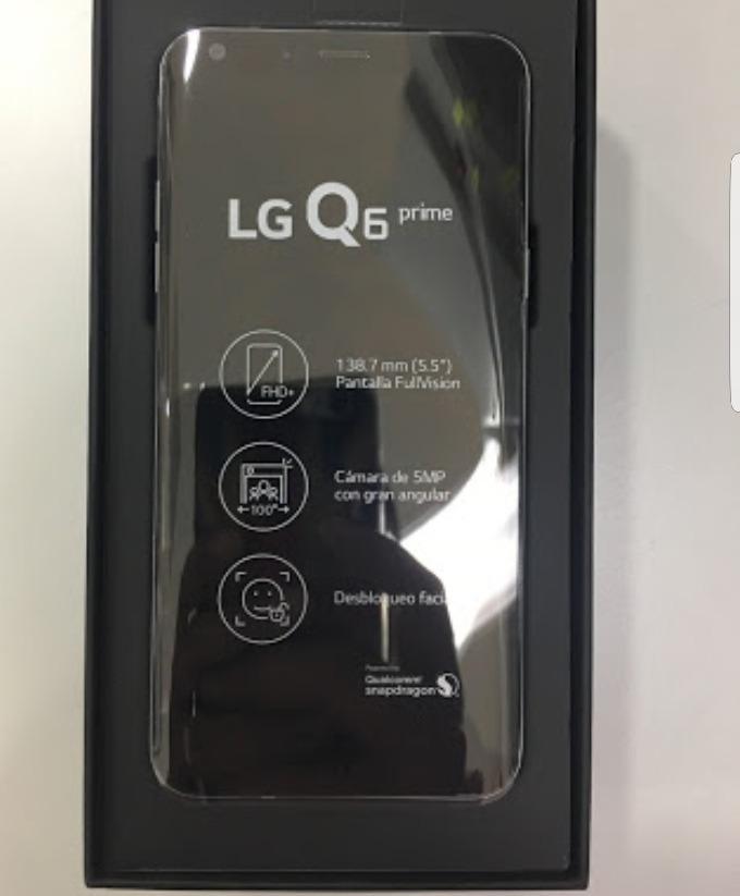 Celular Lg Q6 Prime Nuevo En Caja Con Garantía De 1 Año ...