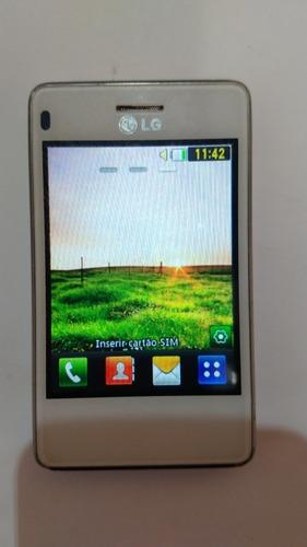 celular lg t375 não é android dual chip..envio já
