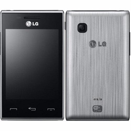 celular lg t585 dual chip tela de 3.2 câmera 2mp