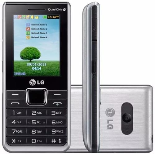 celular lg teclado e tela grande 4 chip (frete gratis)