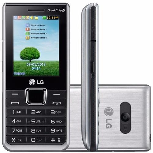 celular  lg teclado e tela grandes 4 chip