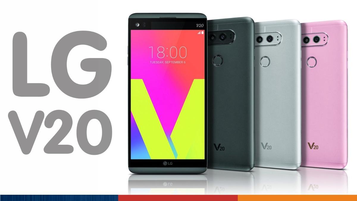 Celular Lg V20 Libre 4g Ar 64gb Interna Doble Camara H990ds L20 4gb Black Cargando Zoom