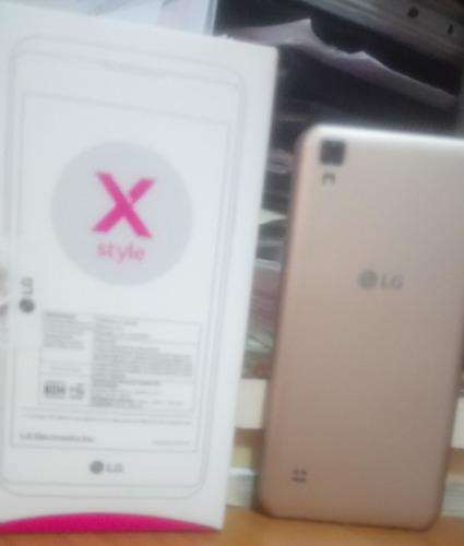 celular lg x sytile color gold
