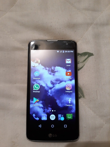 celular lgq7 estetica de 9/funciona al 100