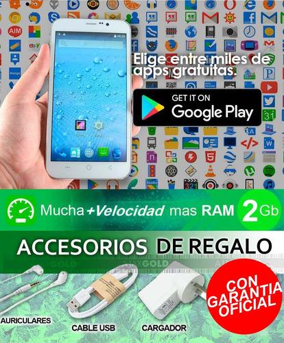 celular liberado android 4g lte oc55 dualsim 2gb ram 5.5 hd