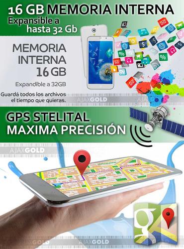 celular liberado android 4g lte oc55 dualsim 2gb ram + funda
