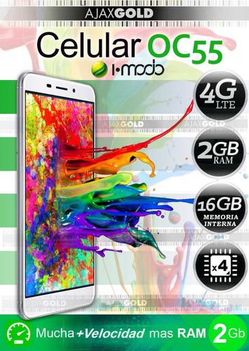 celular liberado android 4g lte oc55 dualsim 2gb ram libre