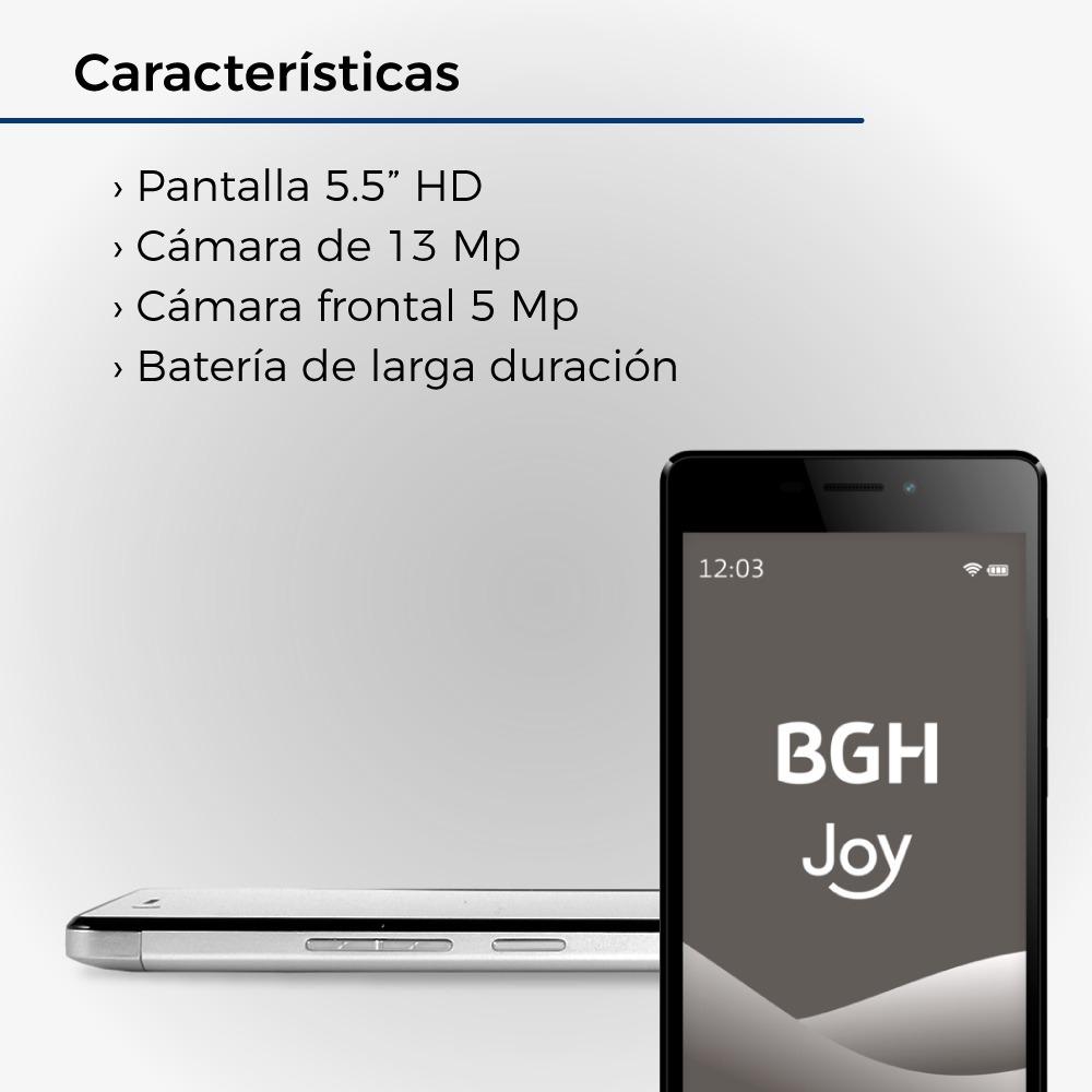 77a80e42fcd celular liberado bgh joy x5 4g lte 16gb 2gb 5.5 13mp+5mp. Cargando zoom.