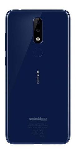 celular liberado nokia 5.1 plus 5,8p 32gb doble cam azul