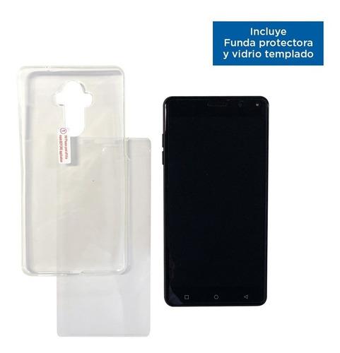 celular libre 6 pulgadas 4g lte 2gb 16gb huella funda vidrio