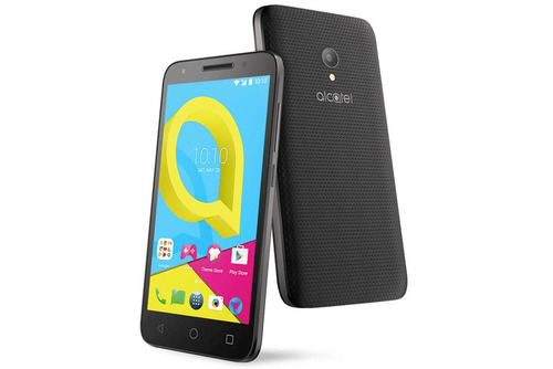 celular libre alcatel u5 4g lte flash frontal