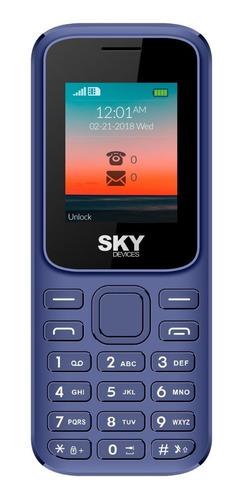 celular libre barato dual sim sky f cámara fm gtia