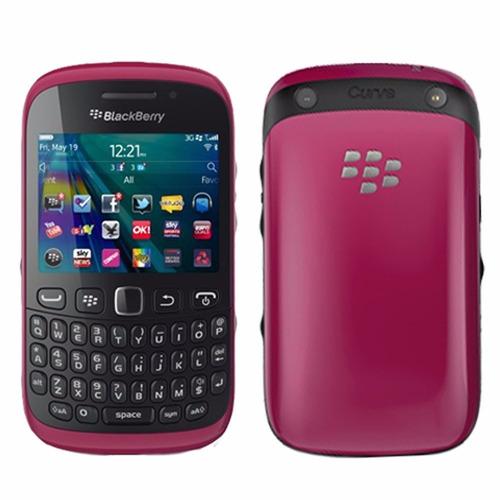 celular libre blackberry 9320 rosa curve 3.2mpx wifi qwerty