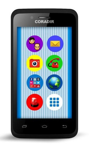 celular libre coradir sc400 kids quad core 5mp boton sos