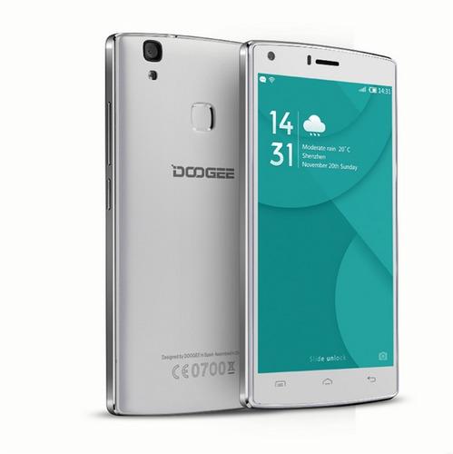 celular libre doogee x5 max blanco cam 8mpx lector huellas