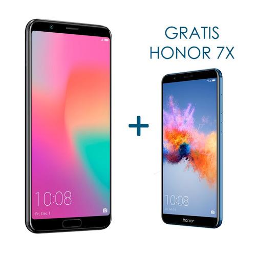 celular libre honor view 10 6gb ram/ 128gb rom +7x obsequio