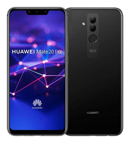 celular libre huawei mate 20 lite 64 gb 4gb ram negro