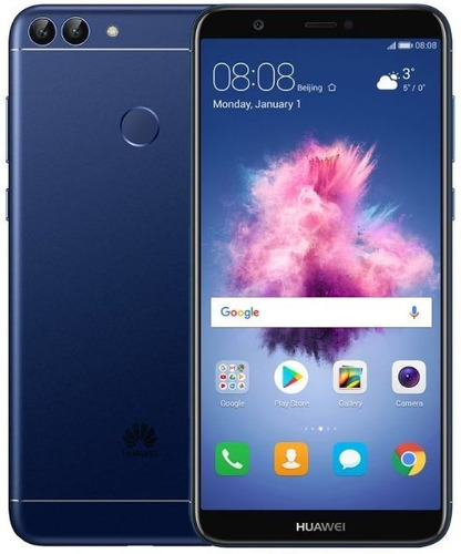 celular libre huawei p smart azul 32gb 13mp+2mp/8mp 4g