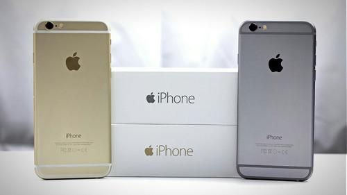 celular libre iphone 6 16gb 4,7  4g 8mp gold obs