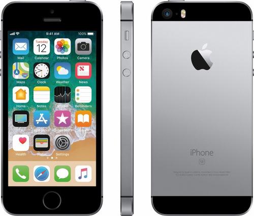 celular libre iphone se 32gb lte 2gb ram rosados