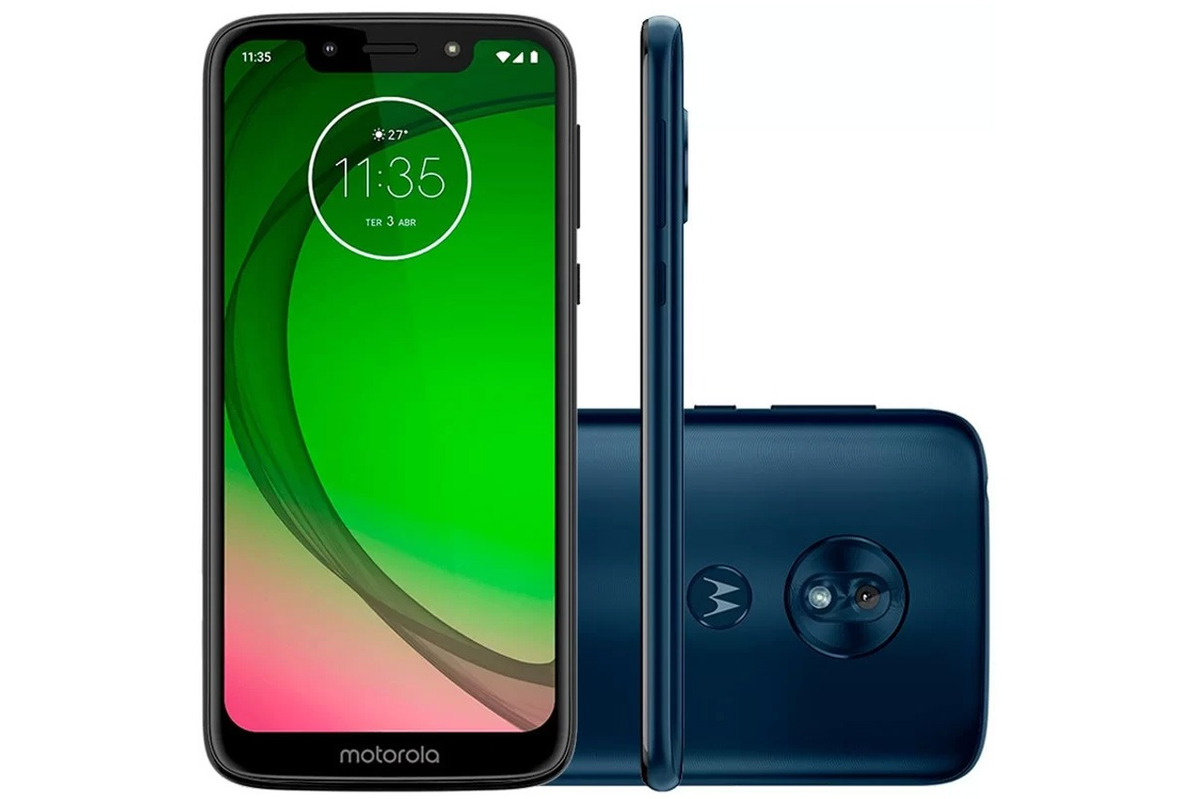 790b644caa Celular Libre Motorola G7 Play Deep Indigo - $ 13.999,00 en Mercado ...