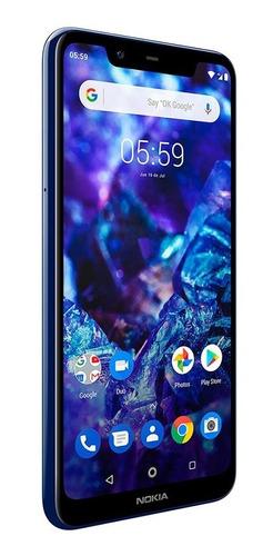 celular libre nokia n5.1 plus azul