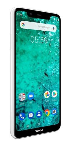 celular libre nokia n5.1 plus blanco