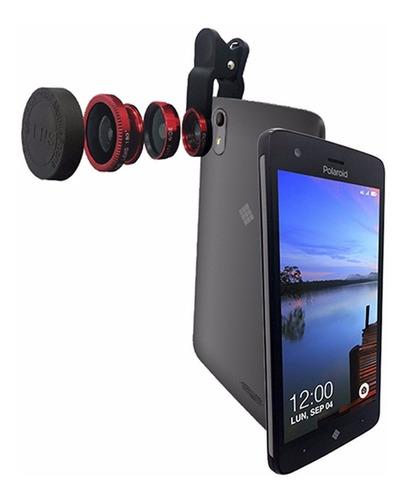 celular libre polaroid con todo lo necesario - disponible