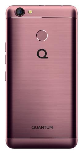 celular libre quantum you, 3gb ram. de metal con huella