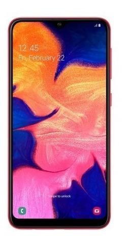 celular libre samsung a10 32gb ds rojo