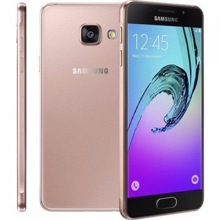 celular libre samsung galaxy a3 2016 rose duos 13mpx 16gb