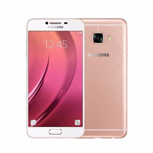 celular libre samsung galaxy c7 pink 32gb ram 4gb 16mpx