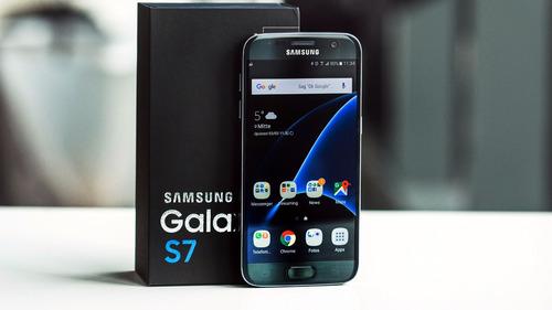 celular libre samsung galaxy s7  32gb lte blancos dora negro