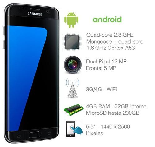 celular libre samsung galaxy s7 edge 32gb 5,5 12mpx