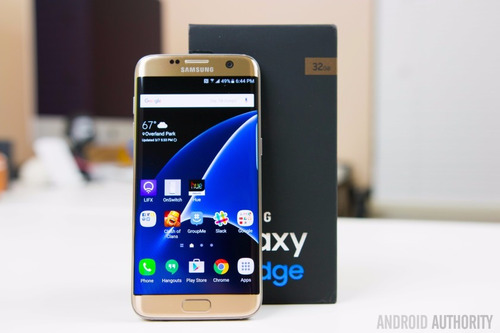 celular libre samsung galaxy s7 edge 32gb lte  negro y plata