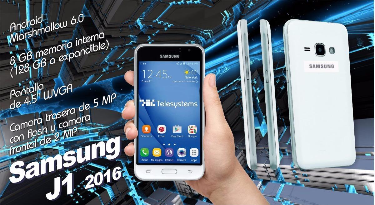 Celular Libre Samsung J1 2016 Android 6 0+ 2 Regalos